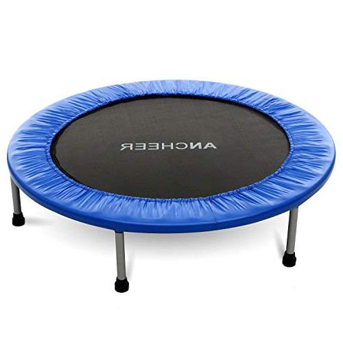 ANCHEER Max Load 220lbs Rebounder Trampoline with Safety Workout Cardio
