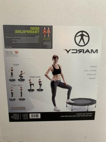 mini workout trampoline kids new in box