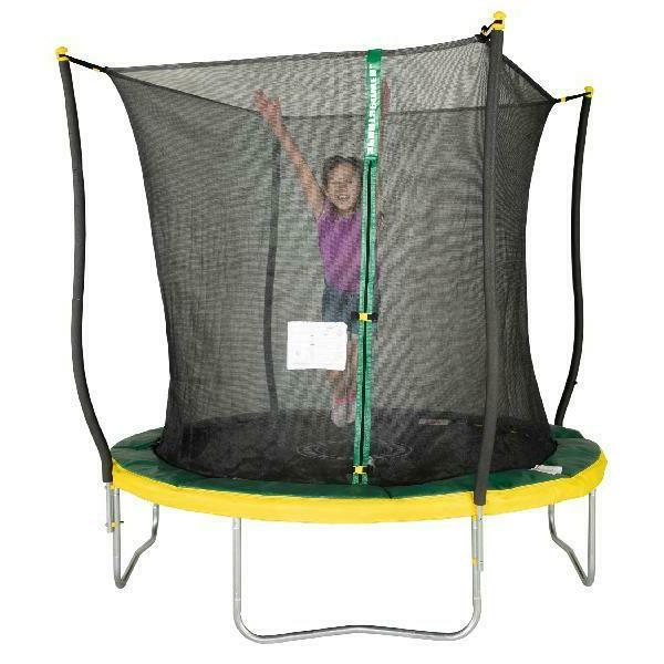 outdoor 8 foot trampoline safety net kids