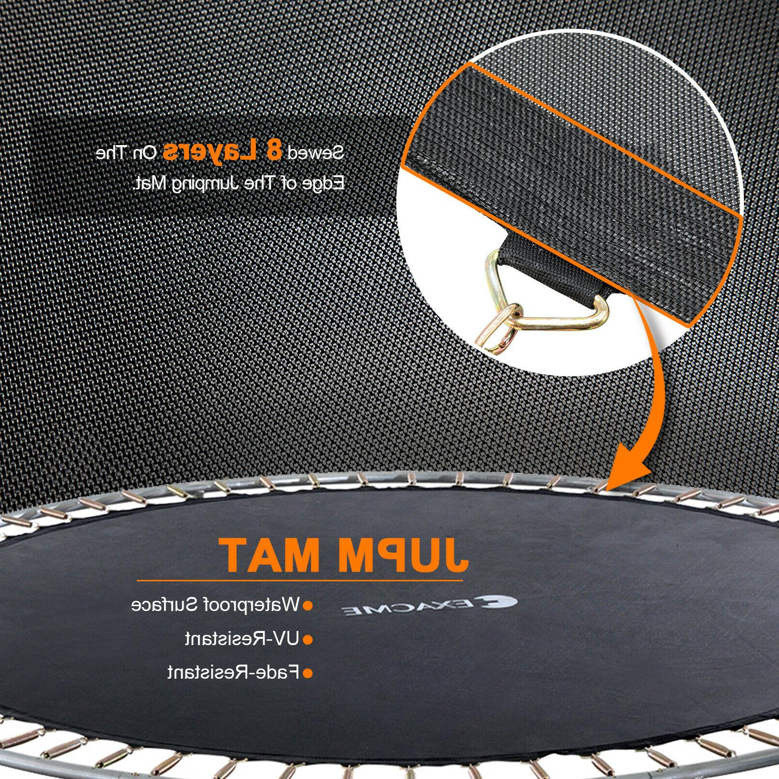 Exacme Trampoline with 400 LBS Weight Carbon Fiber
