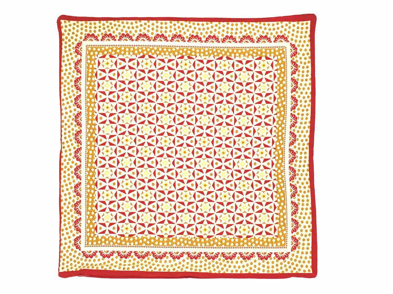 Pillow Cover Spring Butterflies 18x18 Made France