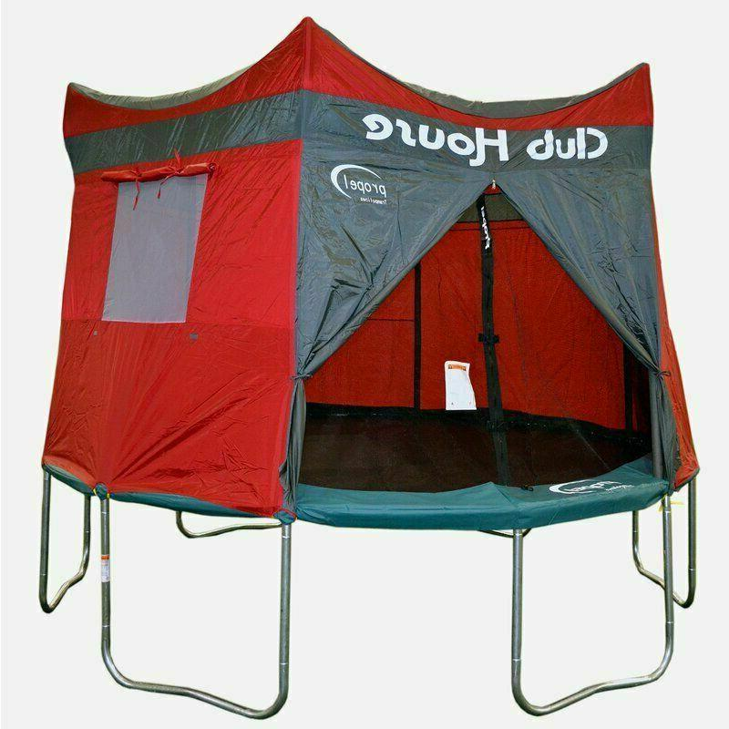 Propel 12ft Round Clubhouse *TRAMPOLINE INCLUDED