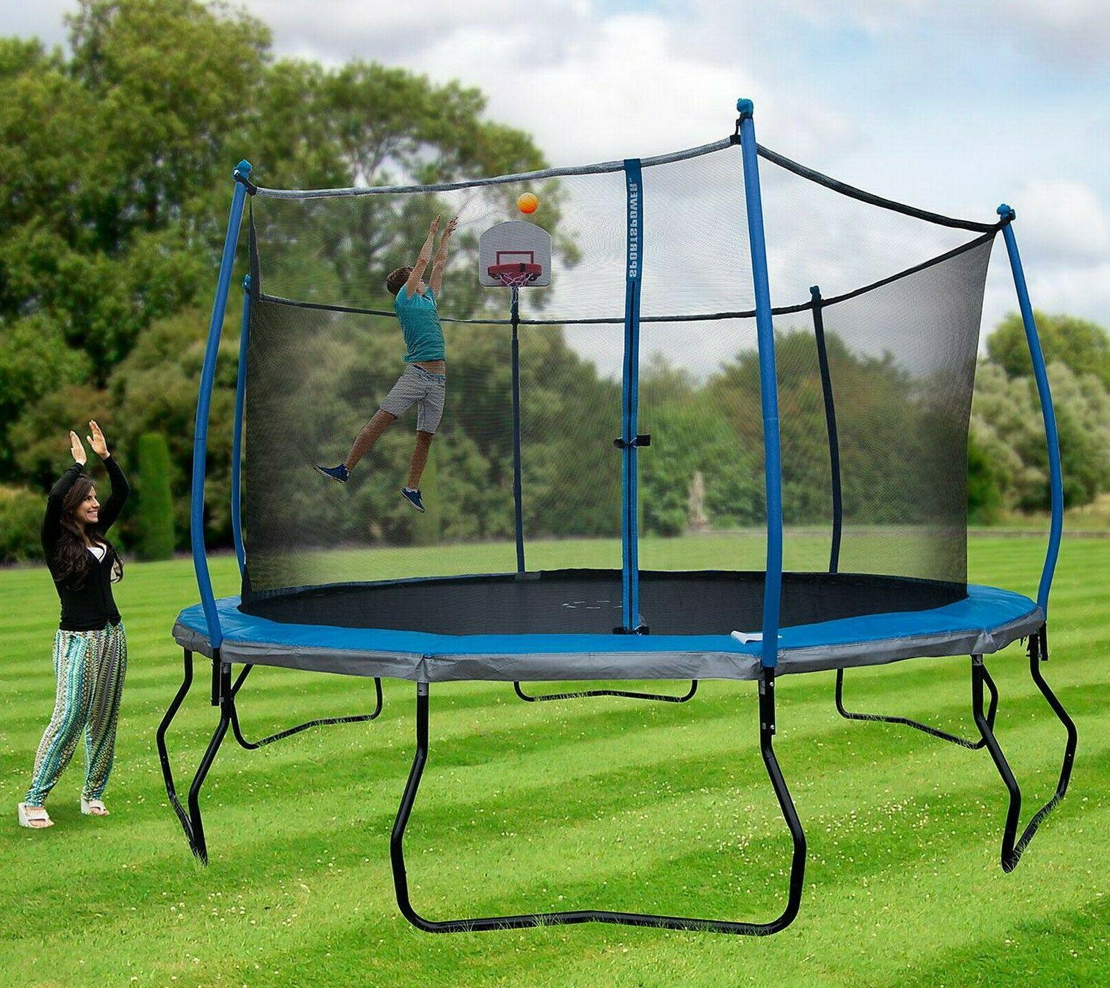 Basketball Safety Enclosure Bounce Pro
