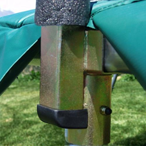 Skywalker Trampolines 10' Trampoline Safety Enclosure with Green