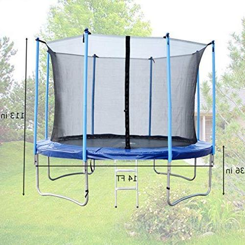 BestMassage 14FT with Enclosure, W/ Spring