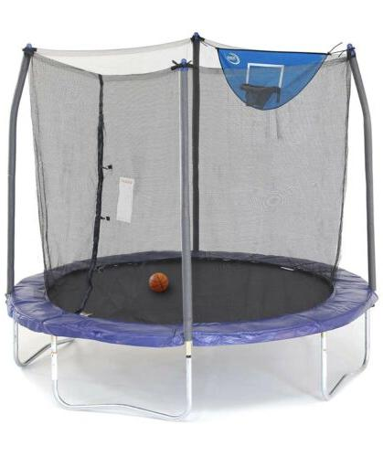 s 8 foot jump n dunk trampoline