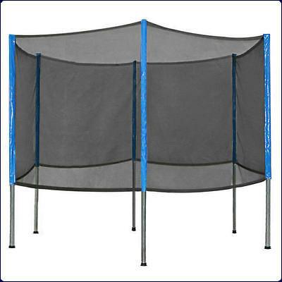 six poles trampoline enclosure net
