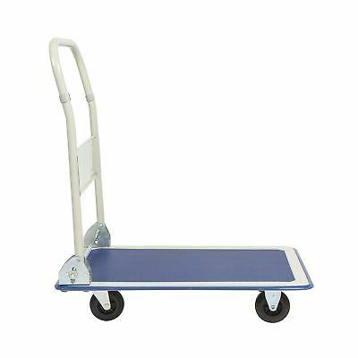 Best Choice Products 330lbs Folding Dolly Foldable War...