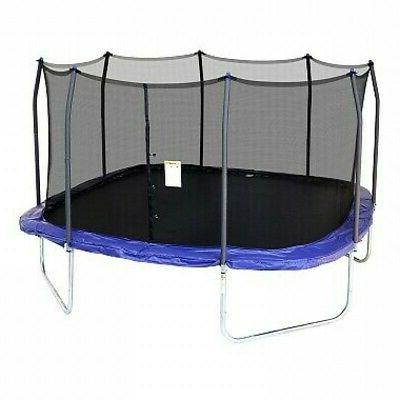 Skywalker 15' SQUARE Replacement Trampoline Enclosure Curved Tube