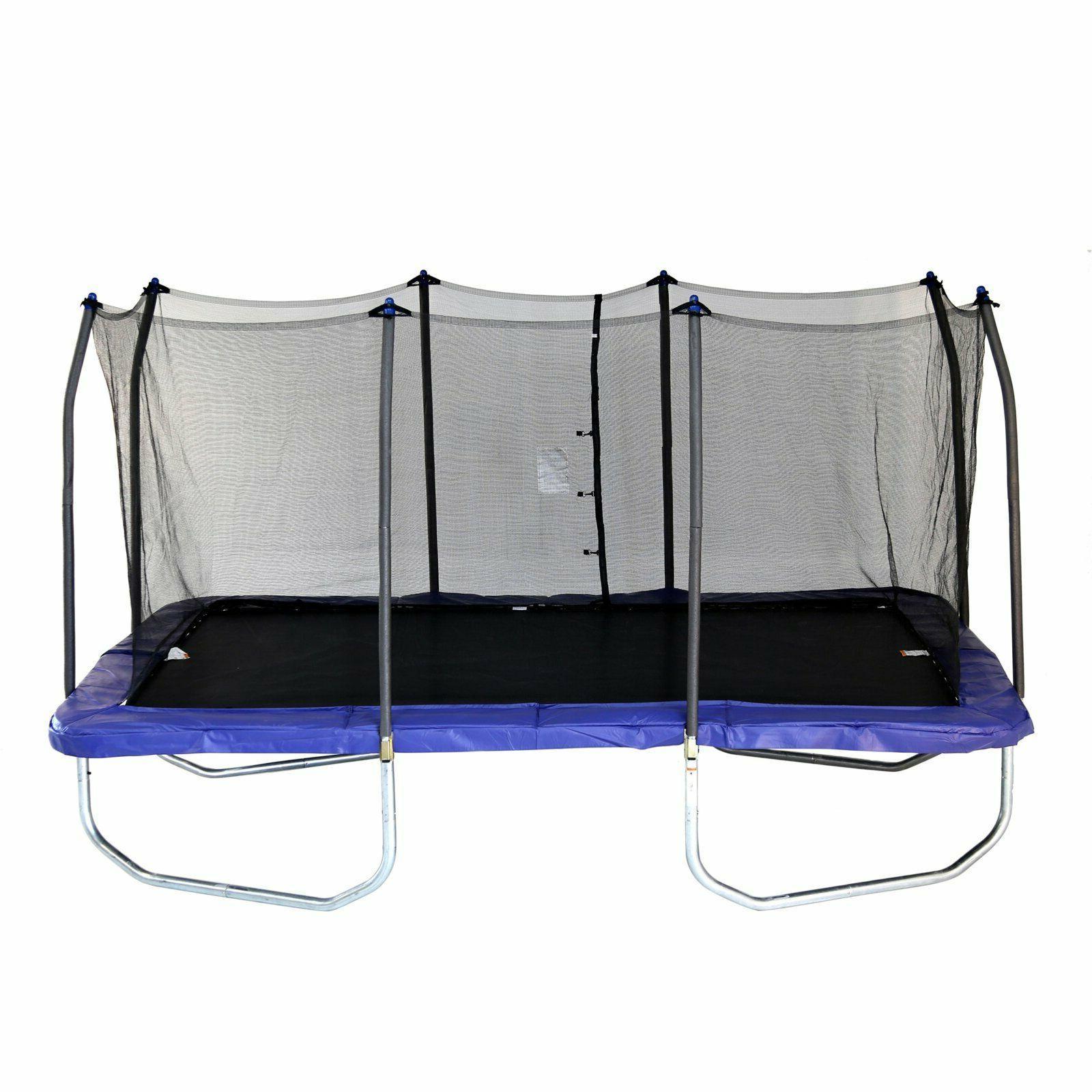 skywalker trampolines 15 rectangle blue trampoline