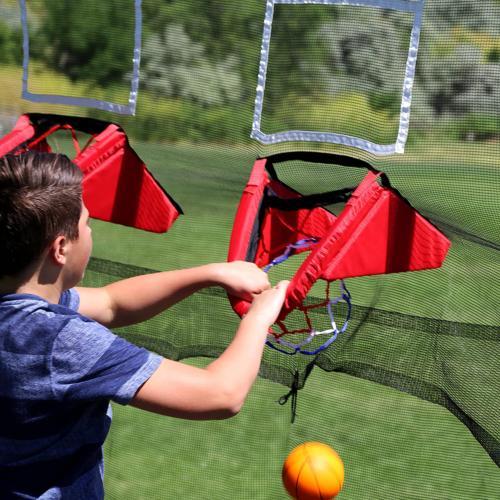 Skywalker Trampolines Trampoline Double Basketball Hoop