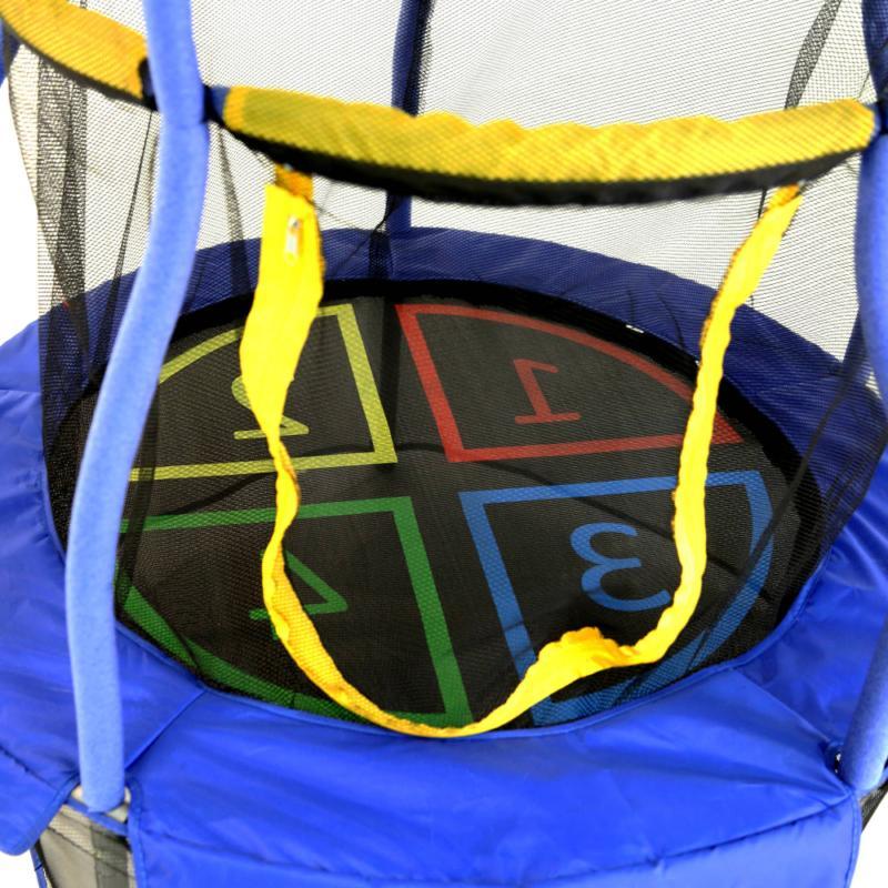 Skywalker Trampolines 40-Inch Bounce-N-Learn Trampoline, Enclosure,