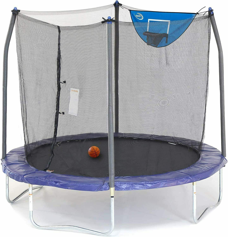 skywalker trampolines 8ft jump n dunk trampoline