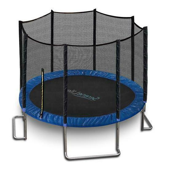 sltra8bl stable and strong reinforced trampoline
