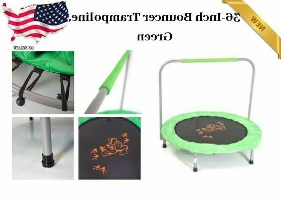 small bouncer trampoline round steel 36 inch