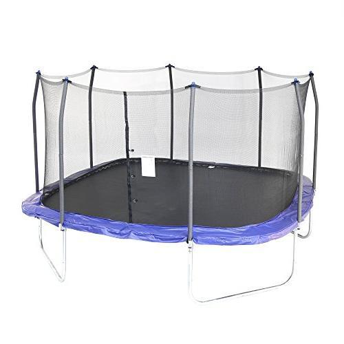 square trampoline enclosure
