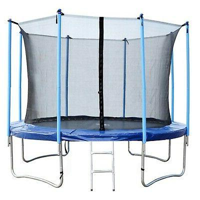 trampoline 12ft round jumping table with safety