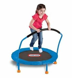 trampoline 3 indoor kids bounce jumping play