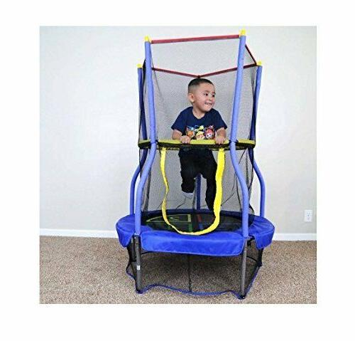 trampoline 40 inch enclosed mini bouncer safety