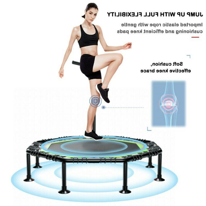 Foldable Mini Fitness Trampoline Rebounder Exercise Workout