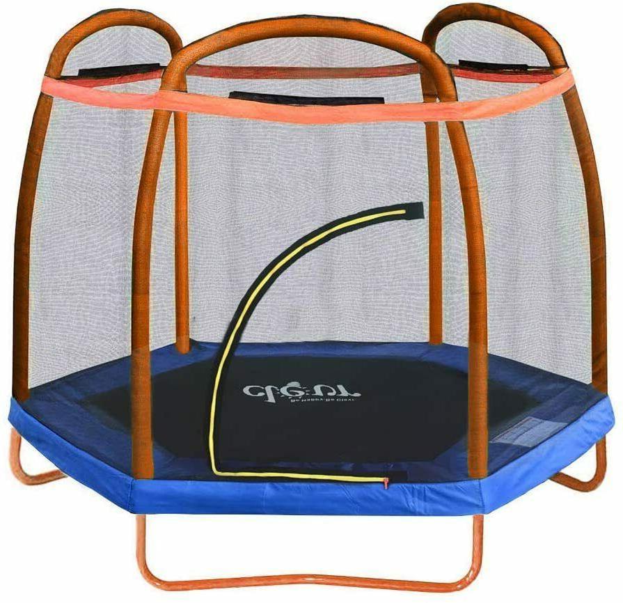 Trampoline Enclosure Net Foot Jump Activity Center Free
