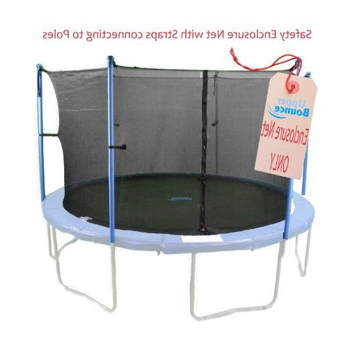 framed trampoline enclosure net fit