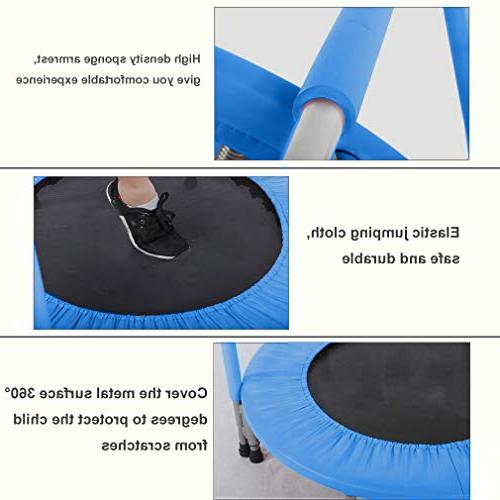 BestMassage Trampoline Kid Portable with Cover Mat Safe 36 Inch Trampoline Equipment