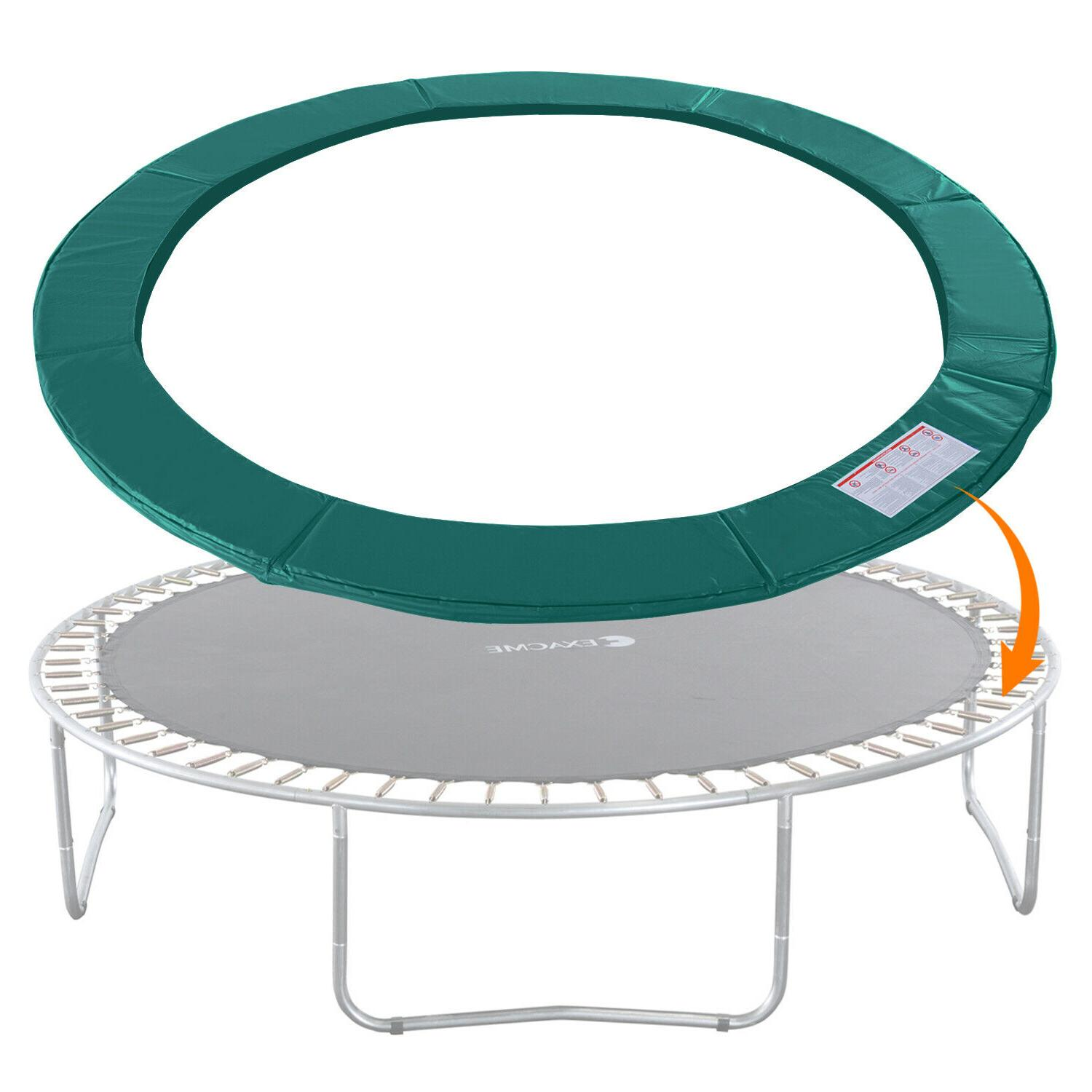 trampoline replacement safety pad frame spring round