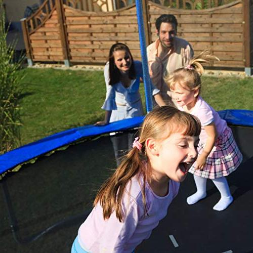 BestMassage Trampoline Jumping Table Safety Enclosure Net Sping Combo Bounding Fitness Equipment