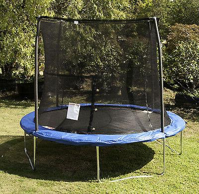 JumpKing Trampoline and Safety Net Enclosure Combo
