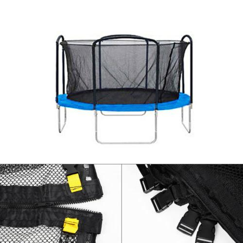 Round Trampoline Enclosure Net Replacement Fence Fits 12' 14