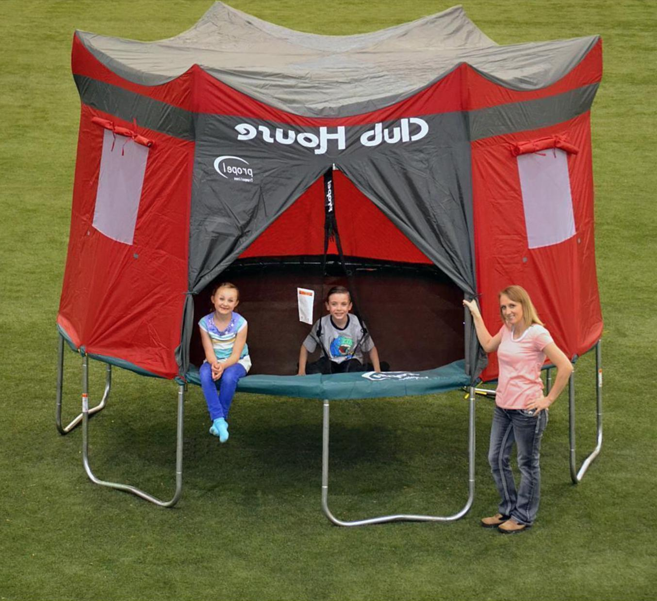 Trampoline Tent For 15 Ft Foot Kinetics Value Quality