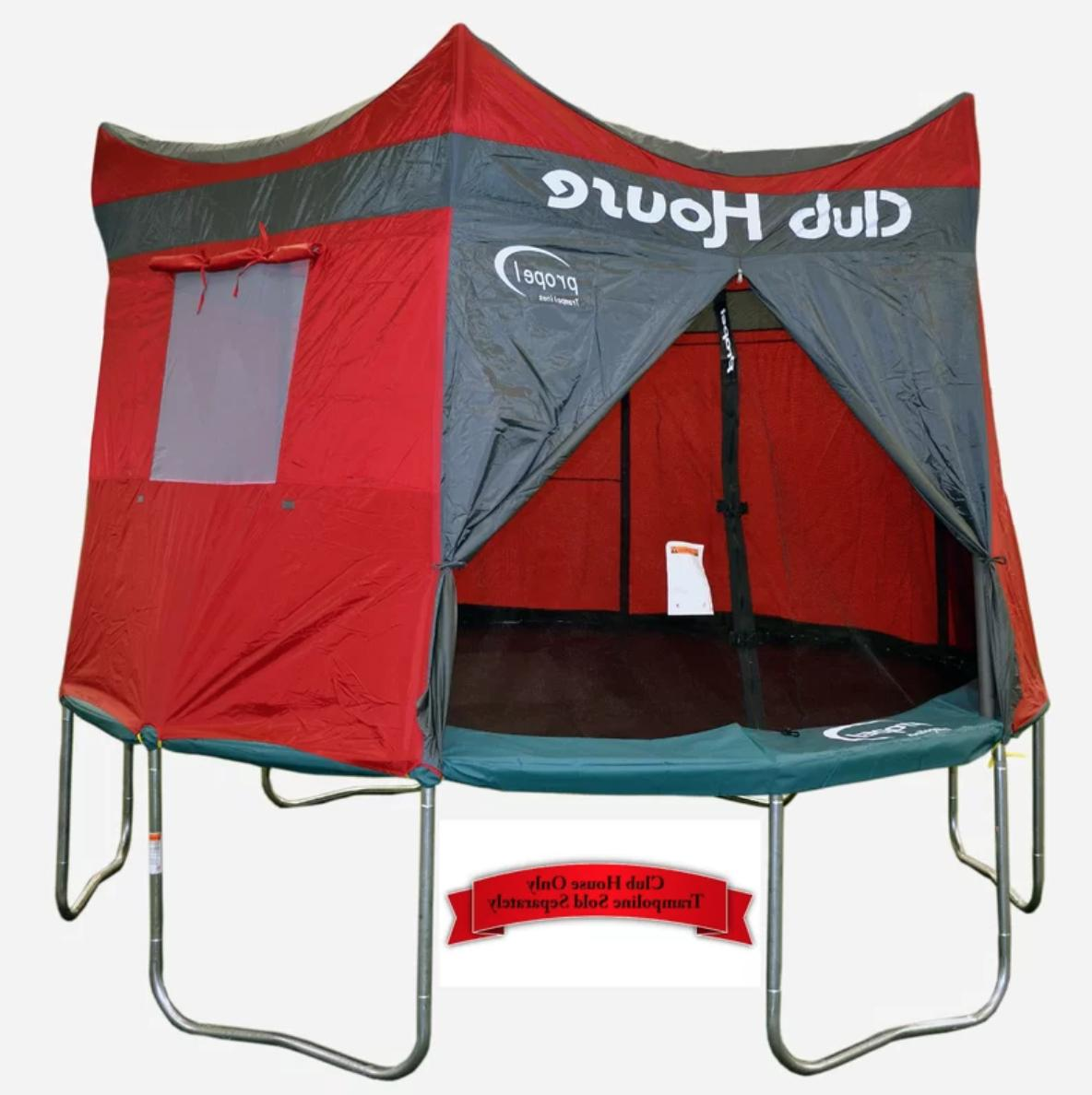 trampoline tent for 15 ft clubhouse foot