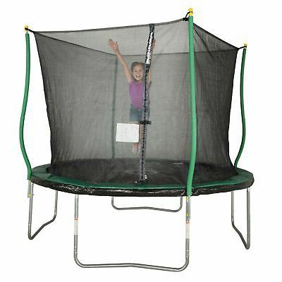 Trampoline With Enclosure Backyard Play