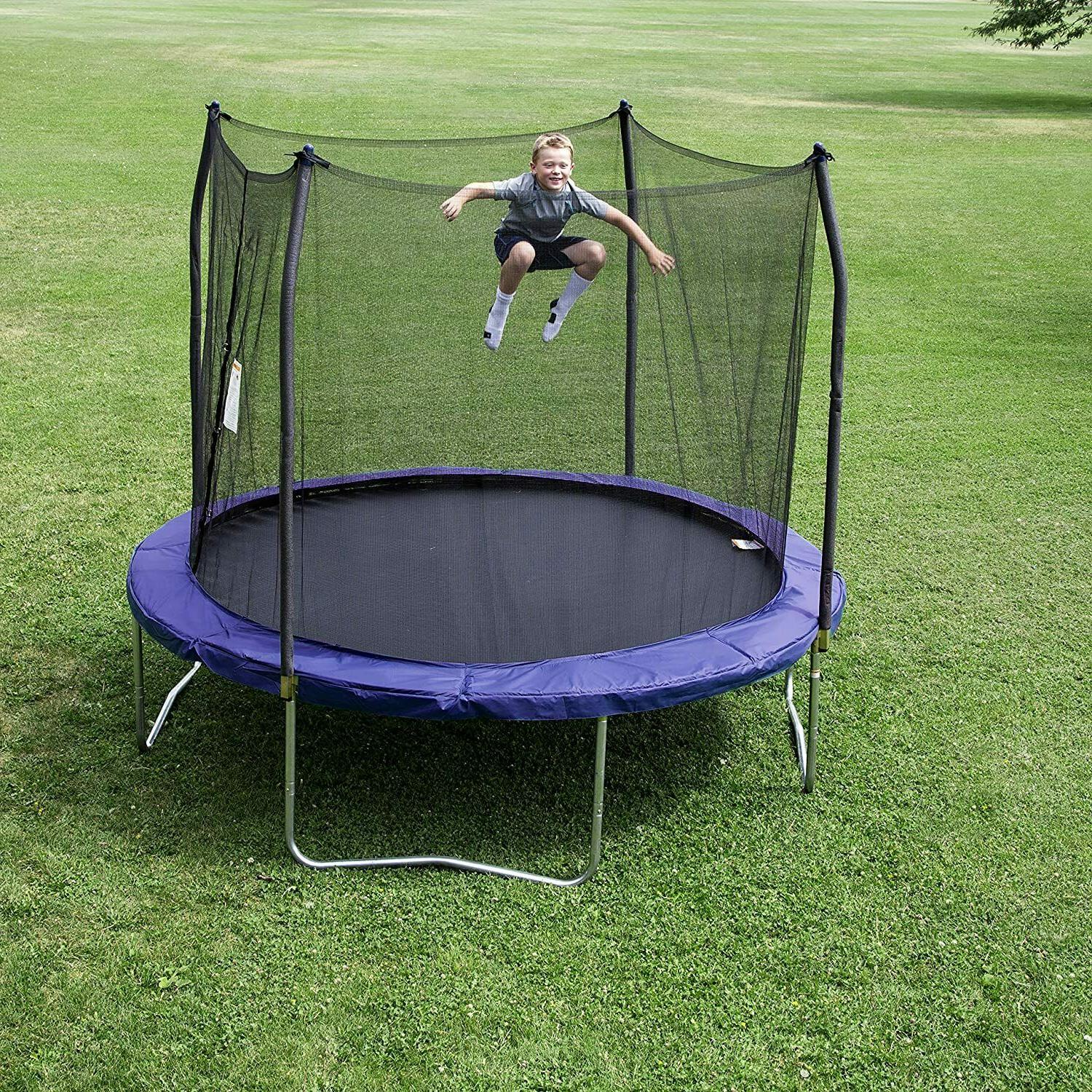 Skywalker Trampolines Round and with spring