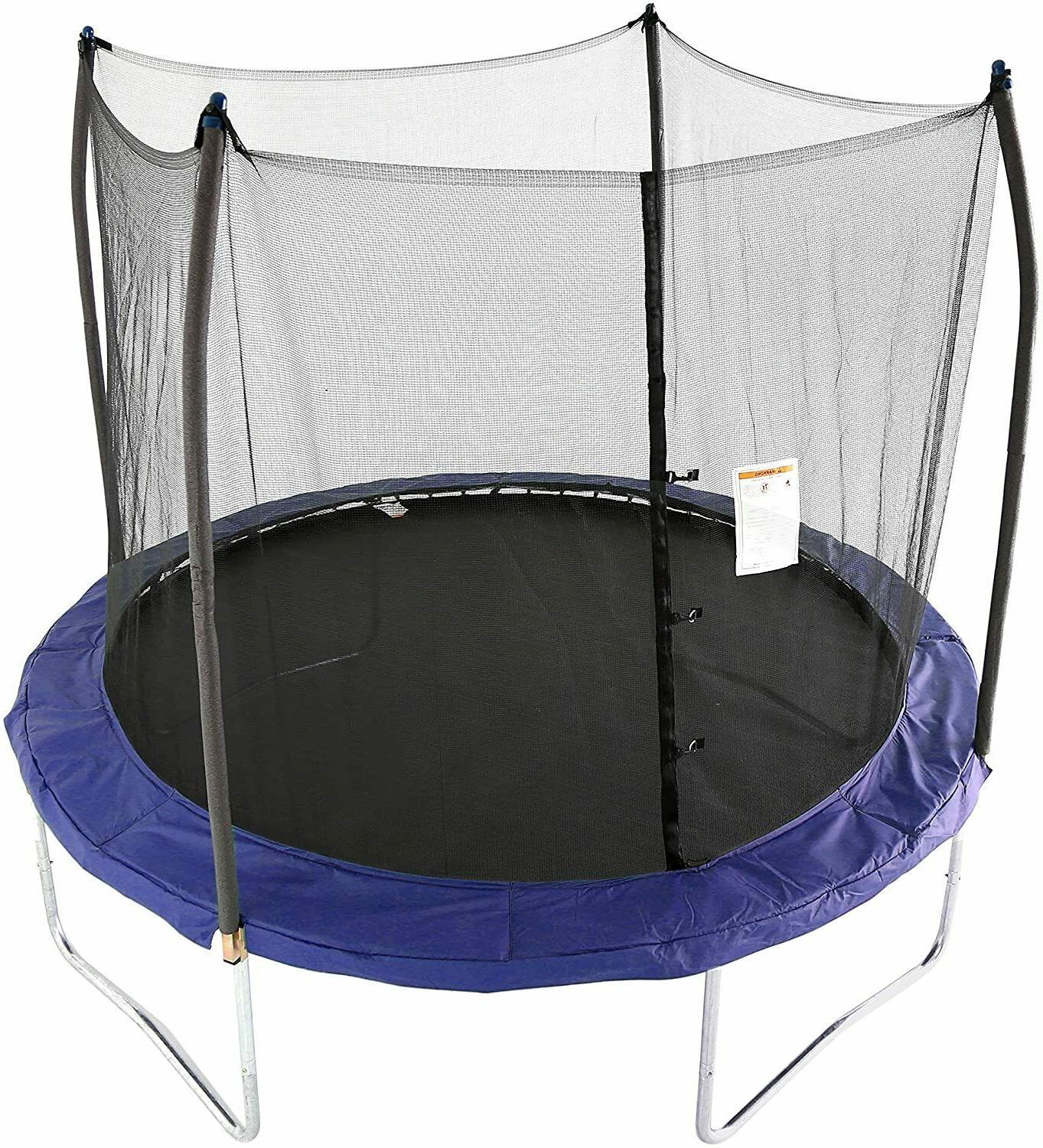 trampolines 10 foot round trampoline and enclosure