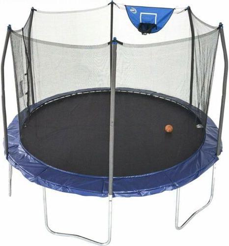 trampolines 12 foot jump n dunk trampoline