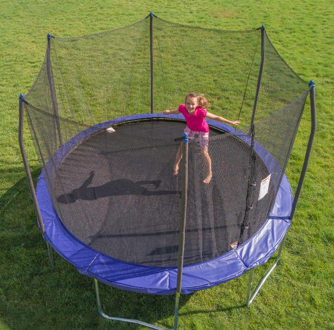 trampolines 12 foot trampoline with safety enclosure