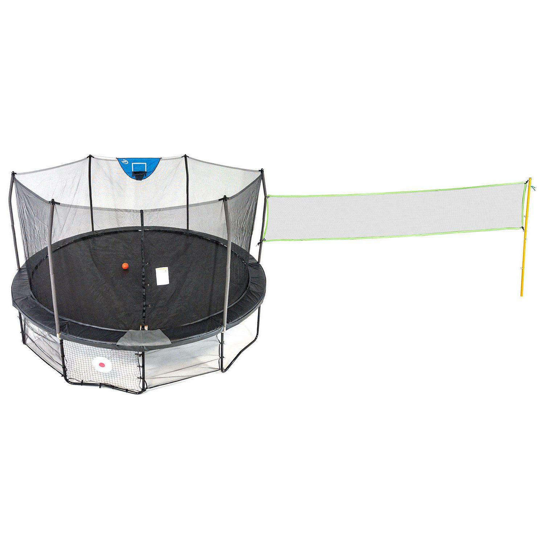 trampolines 16 deluxe round sports arena trampoline