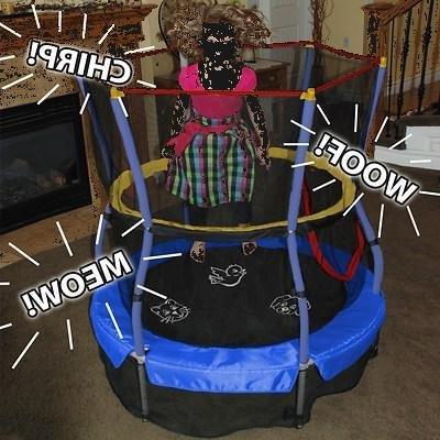 trampolines 55 round mini trampoline