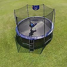 trampolines 8 foot jump n dunk trampoline