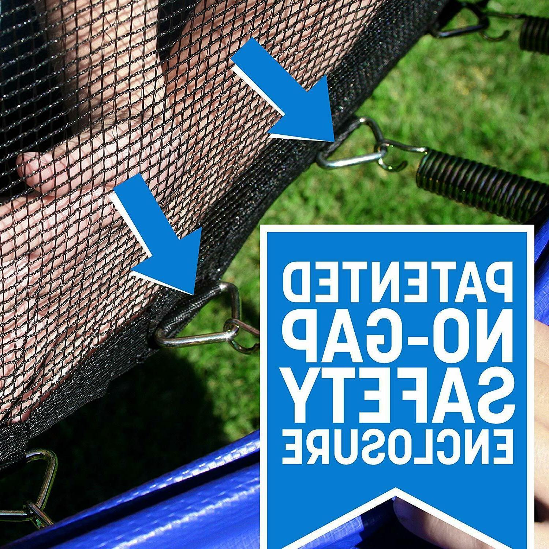 Skywalker Rectangle Enclosure Net Blue Mat Safety