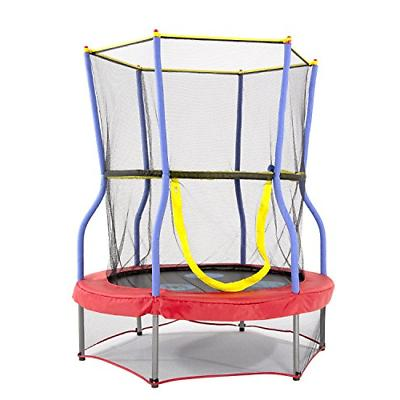 trampolines mini bouncer with enclosure net kids