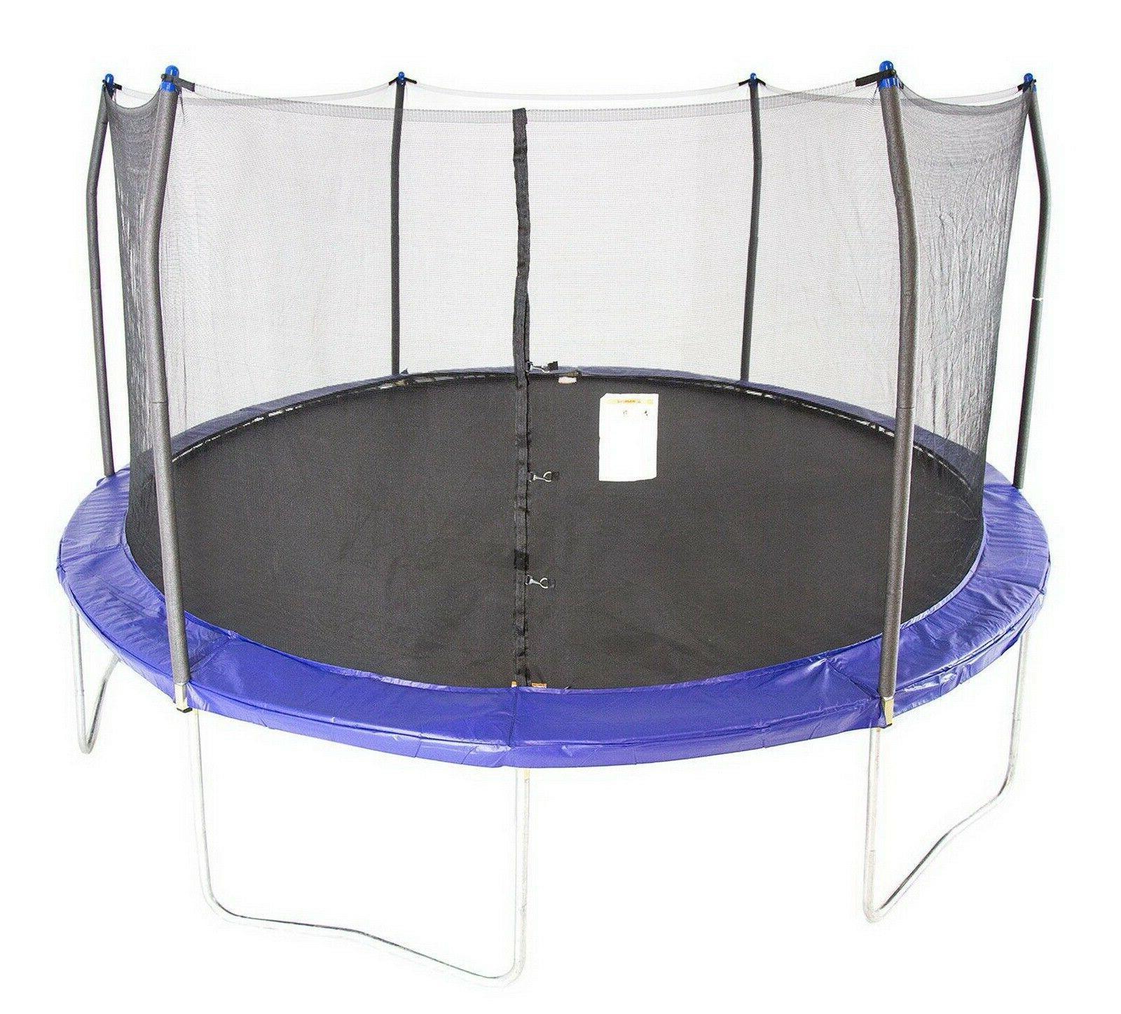 trampolines round trampoline enclosure