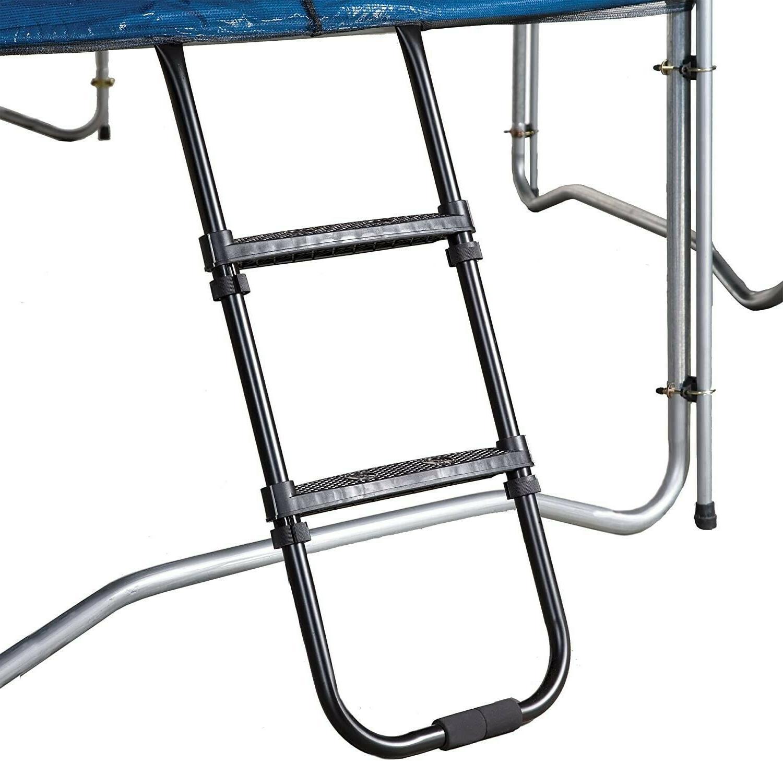 trampolines wide step ladder accessory kit black