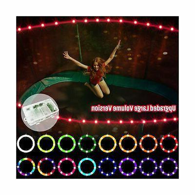 upgraded large volume version led trampoline lights