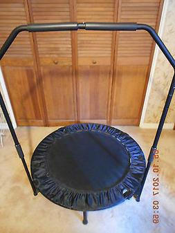 "Marcy  Fitness Trampoline Trainer with Safety Bar, 40"" Mini"