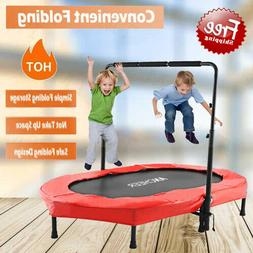 ANCHEER Mini Rebounder Trampoline Foldable Trampoline Indoor