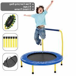 Ancheer Kids Trampoline Jump w/Adjustable Handle Balancing P