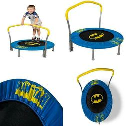 My First Superman 36-Inch Trampoline, with Handlebar Superhe